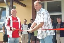 Otevření sportovního areálu v Radvanicích