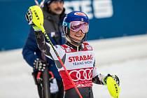 Vítězka Mikaela Shiffrin, Světový pohár ve Špindlerově Mlýně (webfoto)