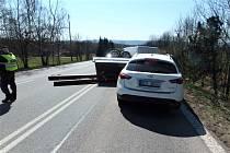 Dopravní nehoda u Kocbeří