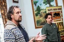 Ředitel Safari Parku Dvůr Králové Přemysl Rabas uvažuje o tom, že by se kostra Sudána mohla vystavit v Národním muzeu.