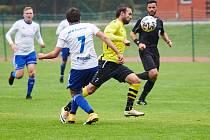 Fotbalisté Trutnova na domácím trávníku nestačili na tým Vysokého Mýta (0:2).