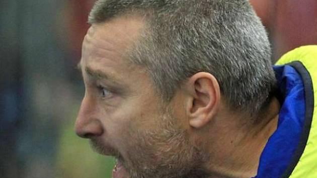 Hokejový trenér Juraj Jurík.