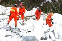 Pyrotechnici umístili do ledových ker, které bránily toku Jizery, v Dolní Sytové na Semilsku několik náloží, které posléze roztrhaly strukturu ledové masy v korytě řeky.