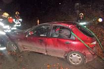 Dopravní nehoda v Babí u Trutnova