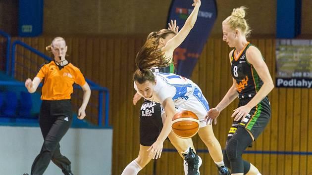 RENOMIA ŽBL basketbalistek - 5. kolo: BK Loko Trutnov - BK Žabiny Brno 58:96.