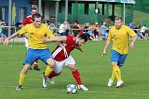 VÝHROU HOSTŮ skončil sobotní duel Mladých Buků s Volanovem. V 78. minutě jej gólem rozhodl Petr Seidl.