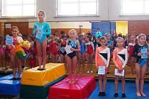 Mladí gymnasté se loučili s úspěšným rokem
