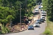 Kocbeře - částečná uzavírka silnice