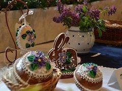 Výstava Velikonoce u Studánky v Malých Svatoňovicích.