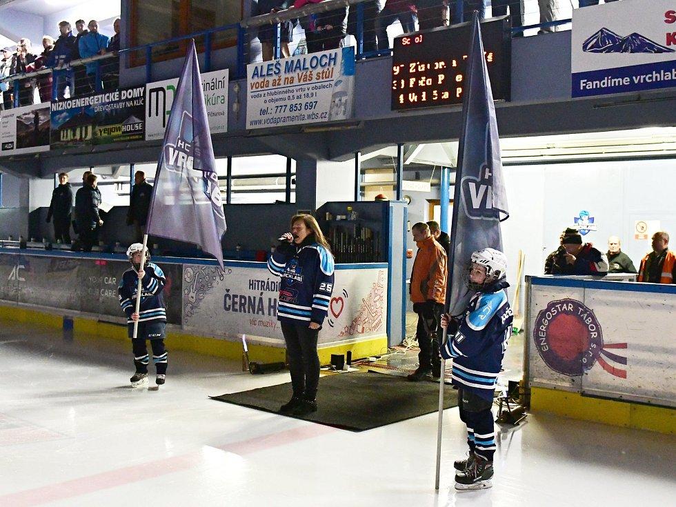Vrchlabští hokejisté srovnali semifinálovou sérii play off druhé ligy na 1:1.