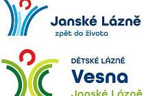 Státní léčebné lázně Janské Lázně - nová loga