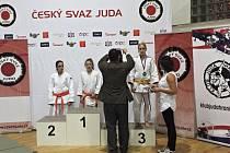 Judistka Klára Volfová završila úspěšnou sezonu třetím místem na republikovém turnaji v Hranicích.