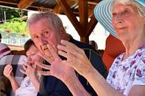 Kapela Michal Tučný revival hrála seniorům pro radost.