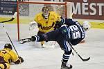 Chance liga v sobotu nabídla velmi atraktivní partii, ve které vrchlabští hokejisté překvapivě udolali favorita z Jihlavy.