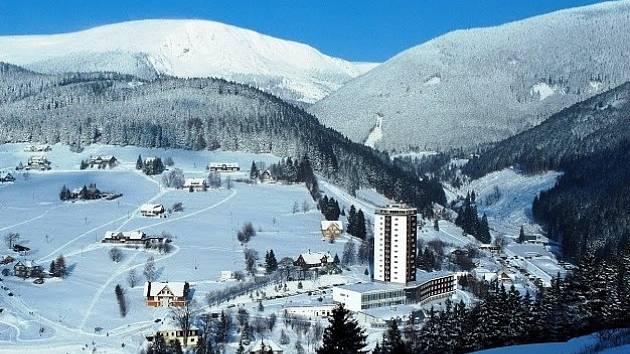 Hotel Horizont v Peci pod Sněžkou