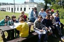 Mladí astronomové v Úpici
