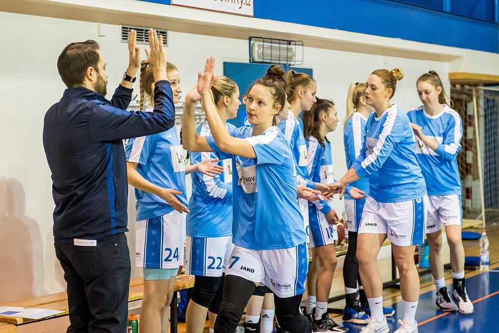 Trutnovské basketbalistky se staly prvním týmem v sezoně, který prohrál se Slovankou.