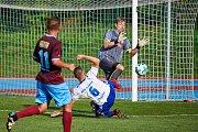 Fotbalisté Trutnova zvládli premiéru před svým publikem. Nováčka z Náchoda vyprovodili hladce 3:0.
