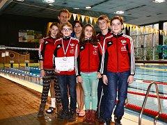 Trutnovský bazén svědčil nejlépe Matyáši Nývltovi (s diplomem).