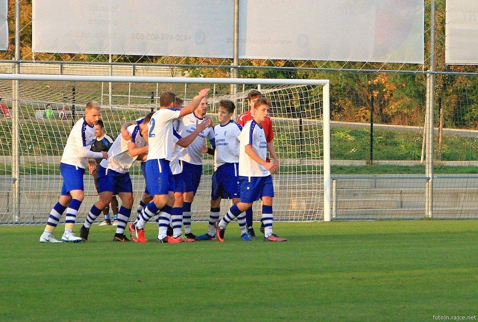 Fotbalisté Vrchlabí na domácím hřišti porazili Jičín nejtěsnějším možným rozdílem 2:1.