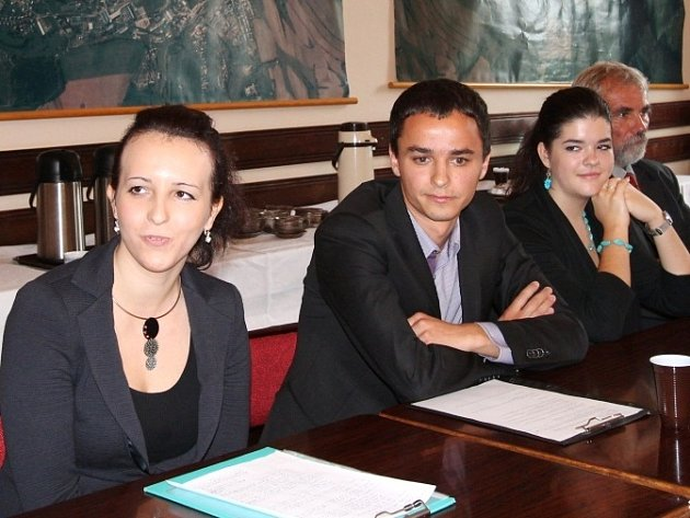 Studenti z francouzského Trouville sur Mer