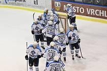Vrchlabští hokejisté doma splnili roli favorita, ale Řisuty nedaly nic zadarmo.