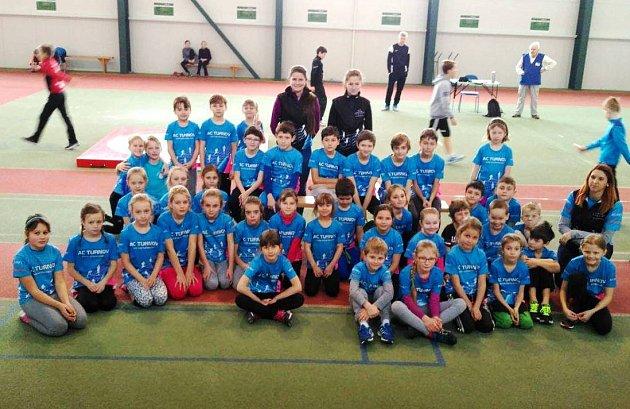 ATLETIKA je vTurnově oblíbeným sportem. Svědčí otom počet dětí, které město reprezentují po celé zemi.