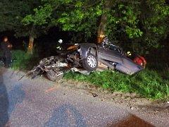 Tragická dopravní nehoda ve Vlčkovicích