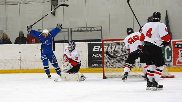 Lomničtí hokejisté dokázali i podruhé v sezoně vyhrál na ledě turnovského rivala.