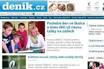 WEB Krkonošského deníku, září 2014