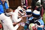 Přivítání olympioniků ve Vrchlabí