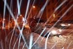 Ranní sníh v Trutnově