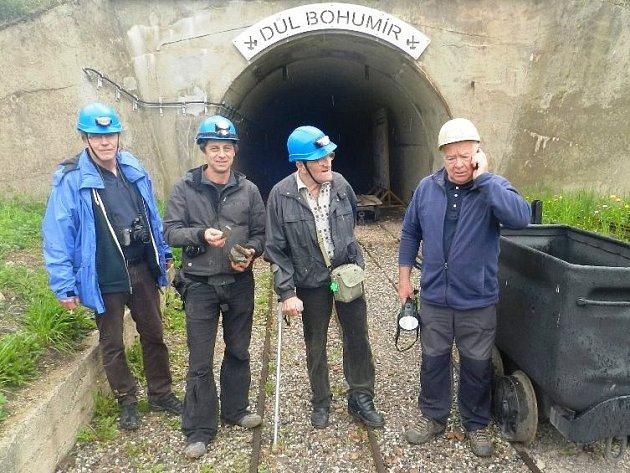 Klub vozíčkářů v dole Bohumír