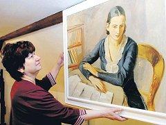 DOSUD NEZNÁMÁ DÍLA malířky Julie Winterové Mezerové budou k vidění v úpickém městském muzeu od zítřka. Účast na vernisáži přislíbil i donátor Josef Bráblík.