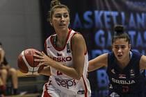 Mladé Češky podlehly Srbsku rozdílem devíti bodů.