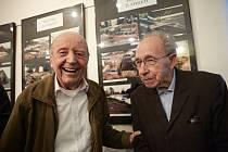 Karel Hybner (vlevo) a Antonín Just.