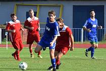 Dvorská rezerva si doma hravě poradila se soupeřem z Kopidlna. Jeden ze čtyř gólů vstřelil Jan Prokůpek.
