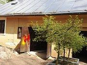 Zahradní domek v jilemnickém zámeckém areálu, který kdysi sloužil jako sklad uhlí nebo záchodky, se stal místem významných archeologických nálezů.