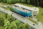 Stavba začíná. V Peci pod Sněžkou vyroste dopravní terminál s parkovacím domem, který přinese horskému středisku 457 nových parkovacích míst.