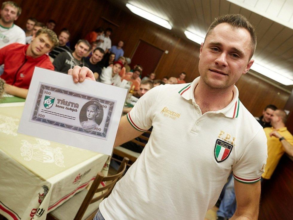 Horňák cup 2013 - František Dunovský, nejsympatičtější hráč turnaje