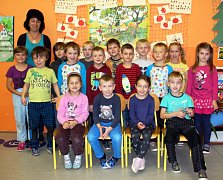 Žáci 1. třídy ZŠ Malé Svatoňovice