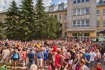ZŠ Komenského v Trutnově oslavila 60. výročí založení školy.