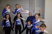 Trutnovské gymnastky se zúčastnily natáčení 19. ročníku předávání cen talentovaným dětem.