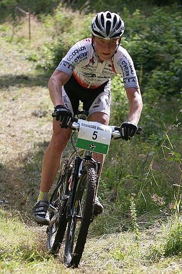 Rtyňský biker Karel Mádr.