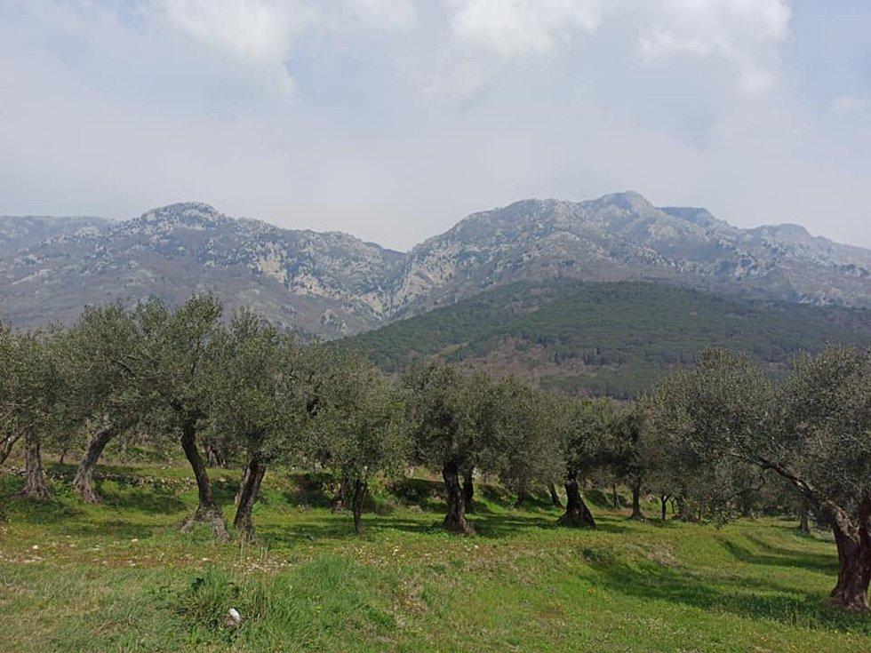 Ivan Mitrus ušel pěšky v Itálii od posledního ledna 1365 kilometrů. Uvízl poblíž Neapole.