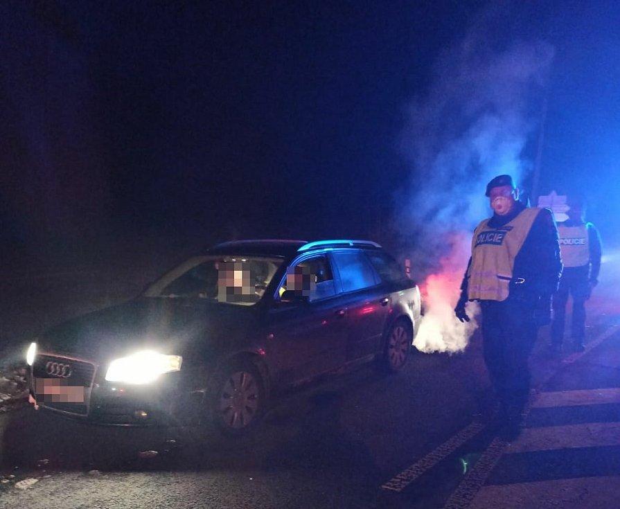 Policejní kontroly na Trutnovsku