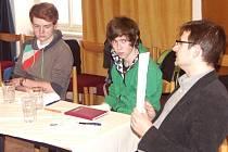 STAROSTA Tomáš Hocke byl ve středu hostem Parlamentu mládeže města Turnova.