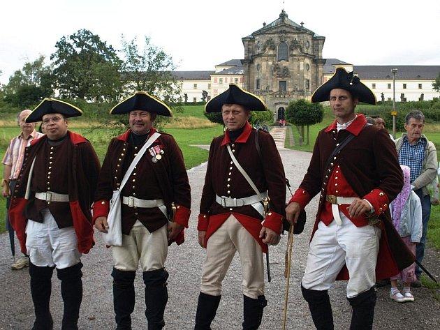 Vojáci připomněli historickou událost z osmnáctého století