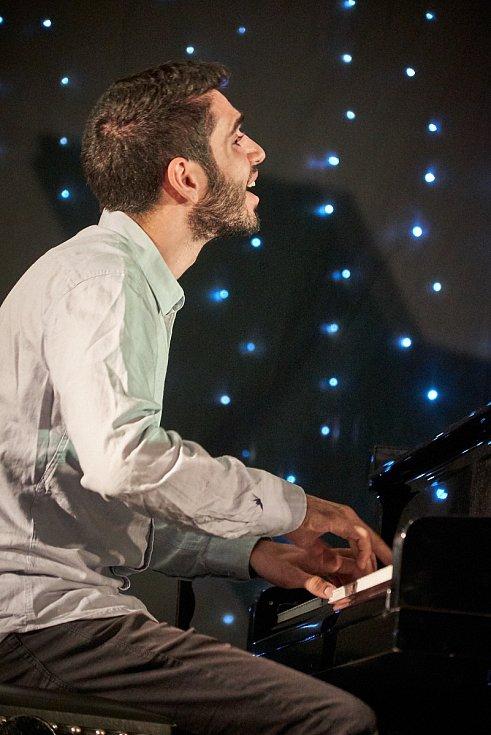 Tal Gamlieli Trio z Izraele při podzimní párty Jazzince v Trutnově.