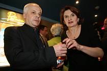 Bohumil Klepl a Eva Holubová